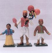 D136 Indian Bazaar : Toy Seller