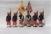 D97 43rd Erinpura Regimental Colour Party