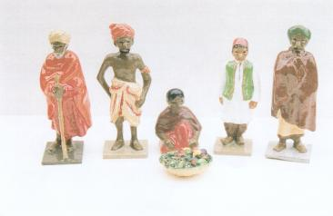 D128 Indian Assorted Civilians