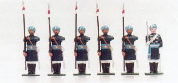 D30 15th Bengal Lancers on Foot